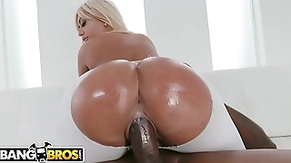 BANGBROS - Busty Babe Brandi Bae Begs To Be Banged By Bad Boy Jon Jon