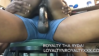 King Ten Inch Dick Cums 3 Times! Which Slut Drinks it?