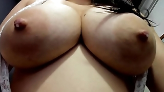 Closeup Breasts - Milky Mirror