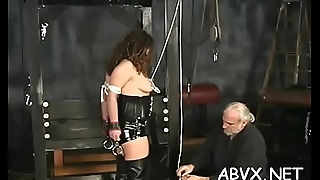 Nude woman flogging video with extreme thraldom