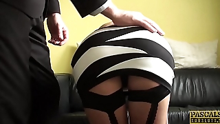 PASCALSSUBSLUTS - Hot Julia de Lucia gagged and fucked hard