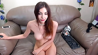 Canadian Thin Girl Showing Body In Sofa Found At Myprivatecamera.live