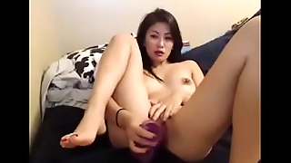 Japanese girl masturbates on cam - more at AngelzLive.com